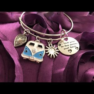 Authentic Poppy Rain charm bracelet